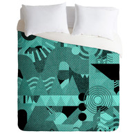 Nick Nelson Lost Frequencies In Mint Duvet Cover