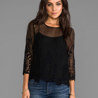 Dolce Vita Deidra Top in Black