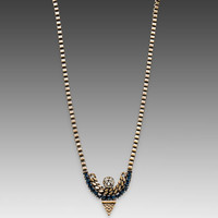 Lionette by Noa Sade Tribeca Necklace in Blue