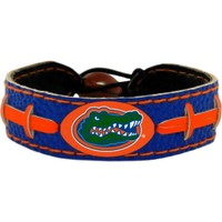 GameWear Florida Gators Team-Colored Football Bracelet