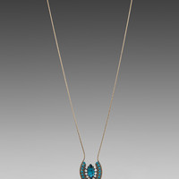 Lionette by Noa Sade Yaeli Necklace in Blue