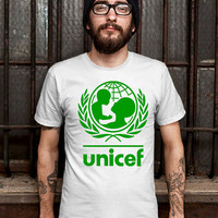 Unicef World Society Shirt Design T Shirt for Men (Various Color Available)