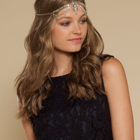 Gatsby Jewelled Headdress | Gold | Accessorize