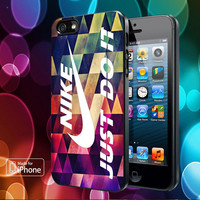Just Do It Geometric Cover for iPhone, Samsung, iPod, Blacberry, htc and sony Case