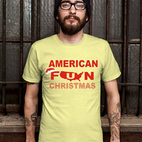 American Funny Christmas Gift Tshirt Tshirt Mens Design T Shirt for Men (Various Color Available)