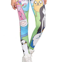 Adventure Time Character Leggings