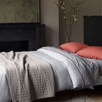 Eileen Fisher Rippled Cotton Coverlet
