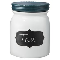 Threshold™ Stoneware Chalkboard Canister (Medium)