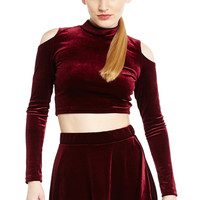 Velvet Supreme Crop Top