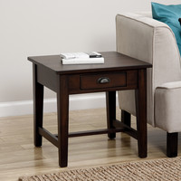 Cooper Deep Chocolate End Table