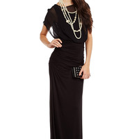 Long Story Ruched Dress
