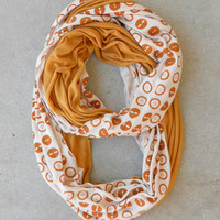 .Buttons Two Infinity Scarf [4733] - $18.00 : Vintage Inspired Clothing & Affordable Dresses, deloom | Modern. Vintage. Crafted.