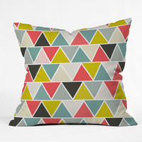 Heather Dutton Triangulum Outdoor Throw Pillow