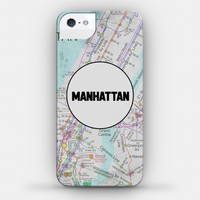Manhattan Transit Map Case