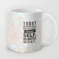 Today Mug by Olivia Joy StClaire