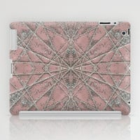 Snowflake Pink iPad Case by Project M