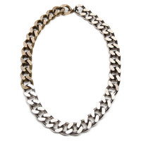 Ombre Chain Necklace | Luv Aj