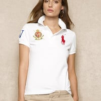 Embroidered Big Pony Polo