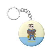 Super mouse cartoon keychain