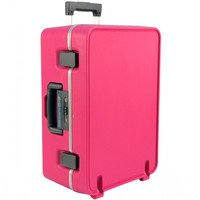 Flight 001 – Where Travel Begins. F1 Cargo Carry-on Pink - Gifts For Her - Gift Guide