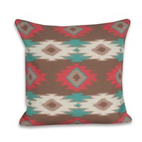Square Paco Pillow - Tuscon
