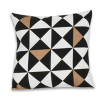 Origami Pillow - Metallic Gold