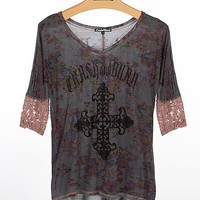 Crash & Burn Elodie V-Neck T-Shirt