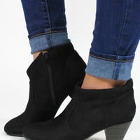 Trendy Traveler Bootie - Black