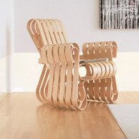 Power Play Club Chair, Maple