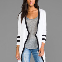 Bobi Wrap Cardi in White