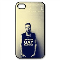 Macklemore Snap on Hard Case Cover Back Skin For Apple iPhone 4 4S Y05