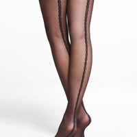 CHAIN LINK BACK SEAM FULL TIGHTS