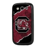 NCAA South Carolina Fighting Gamecocks Brick Galaxy S3 Rugged Case