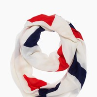 abstract bow infinity scarf
