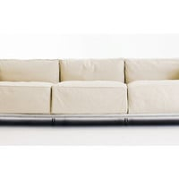 LC3 Grand Modele Three Seat Sofa - Colors, Cream