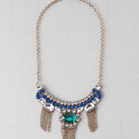 FERRARA FRINGE STATEMENT NECKLACE