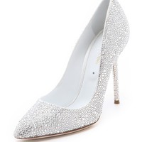 All Over Strass Pumps