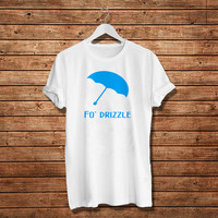 Fo Drizzle T Shirt West Coast Umbrella T-Shirt Rain.azalea t.shirt Women T-Shirt (Available Various Color)