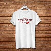 I Hope You Step On A Lego T.shirt Women T-Shirt (Available Various Color)