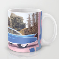 Cadillac Coupe De Ville, 1960 Mug by Bruce Stanfield