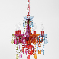 Plum & Bow Small Rainbow Chandelier - Urban Outfitters