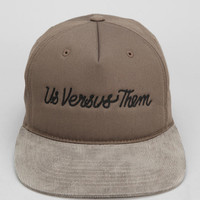 Us Versus Them Chain Stitch Snapback Hat - Urban Outfitters