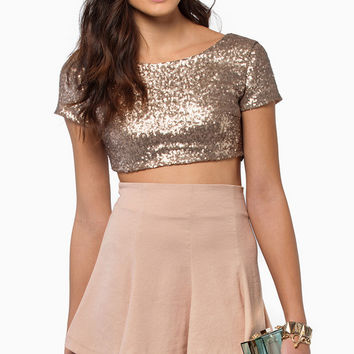 Dazzled Crop Top $29
