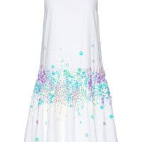 Embellished Drop-Waist Cotton Dress by Suno Now Available on Moda Operandi