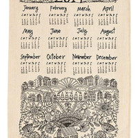 The Land of Nod 2014 Jute Calendar from The Land of Nod | BHG.com Shop