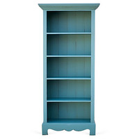 Beach House Bookcase, TurquoiseBRADSHAW KIRCHOFER