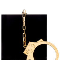 Kinky Clutch In Black by Charlotte Olympia for Preorder on Moda Operandi