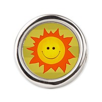 Cute Happy Smiling Sun Ring