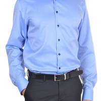 Men's Shirt - Sky Blue