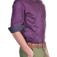 Men's Shirt - Bordeaux